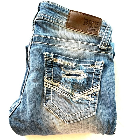 BKE Women's Denim Jeans Size W23 X L33.5